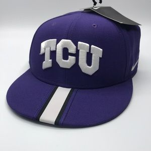 NWT TCU Texas Christian University Nike Snapback